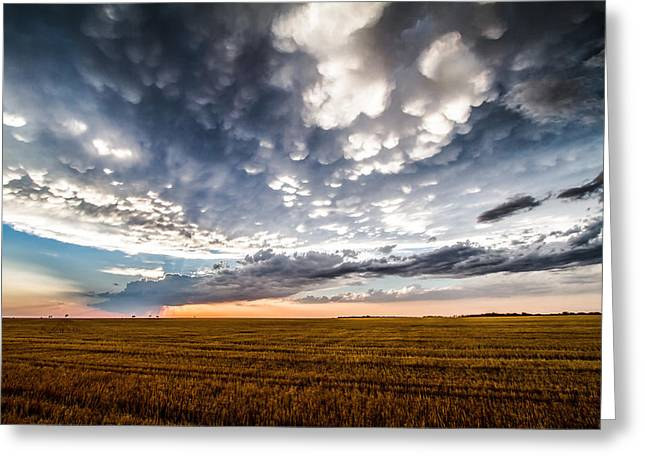 After The Storm Greeting Card by Sean Ramsey