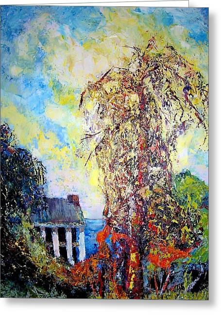 after Will Henry Stevens Greeting Card by Jodie Marie Anne Richardson Traugott          aka jm-ART