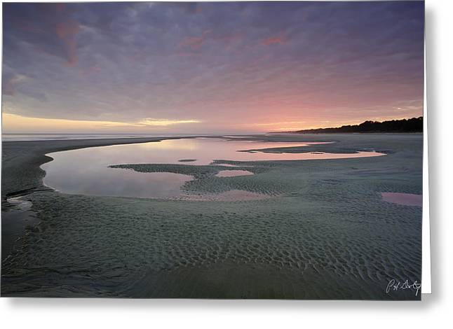 Afterglow Greeting Card by Phill Doherty