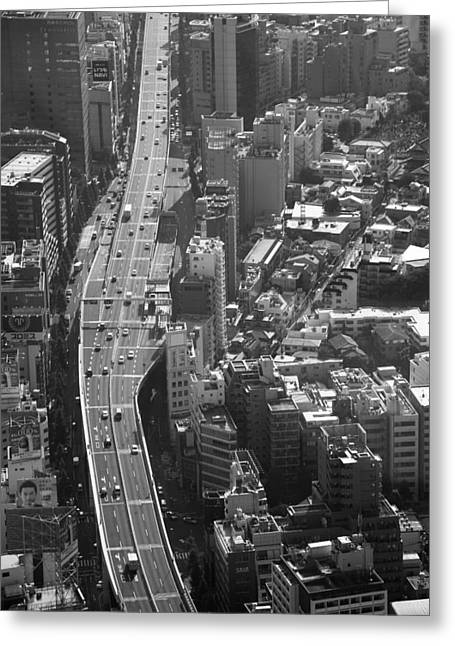 Afternoon Above Tokyo Greeting Card