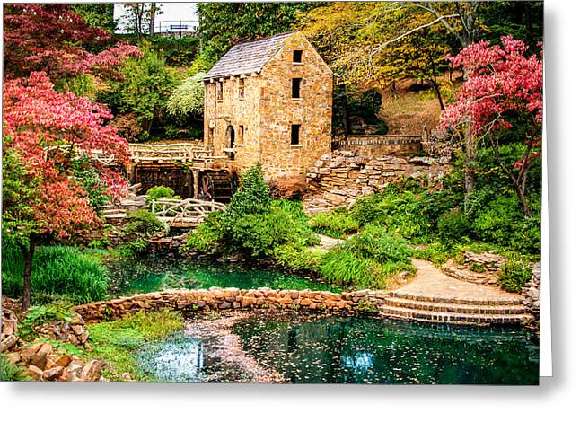 Afternoon At The Old Mill - Arkansas Greeting Card by Gregory Ballos