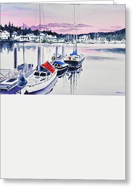 Afternoon Gig Harbor Greeting Card
