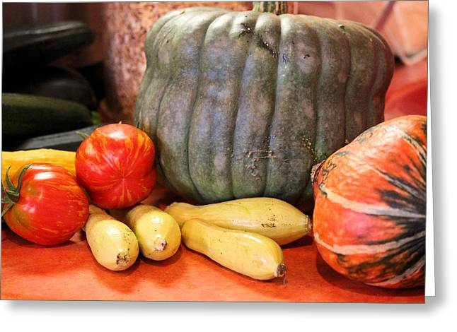 Afternoon Harvest Greeting Card