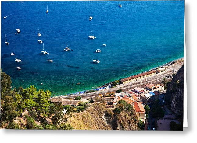 Afternoon In Taormina Greeting Card