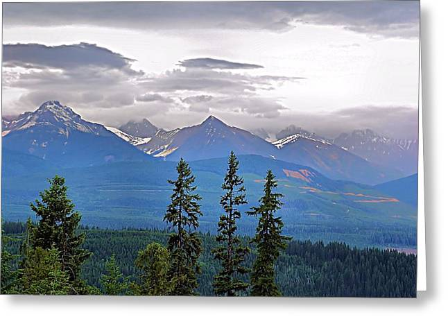 Afternoon In Yoho No.1 Greeting Card by Janet Ashworth