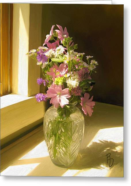 Afternoon Light Greeting Card