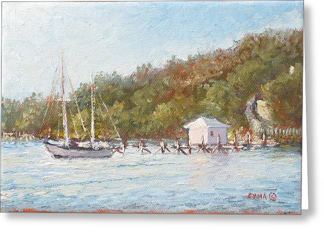 Afternoon On The Bay Greeting Card