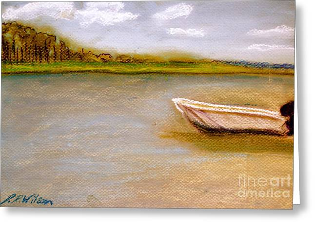 Tybee Island Afternoon On Alley 3 Greeting Card by D Renee Wilson