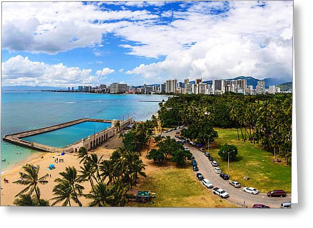 Afternoon On Waikiki Greeting Card
