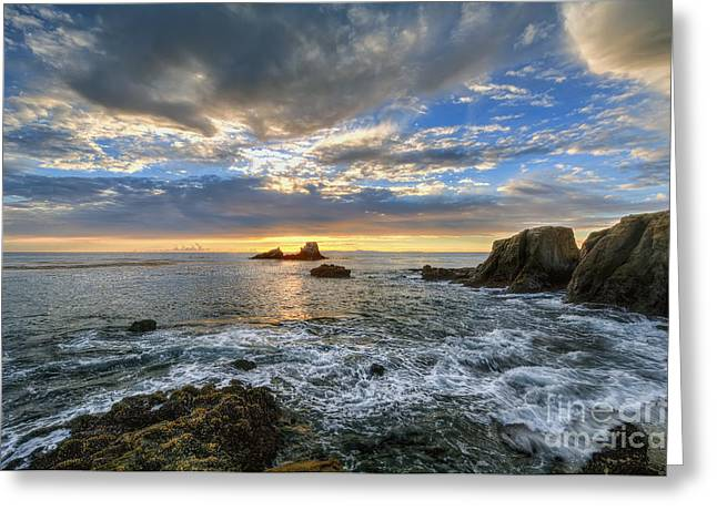 Afternoon Sky In Laguna Beach Greeting Card