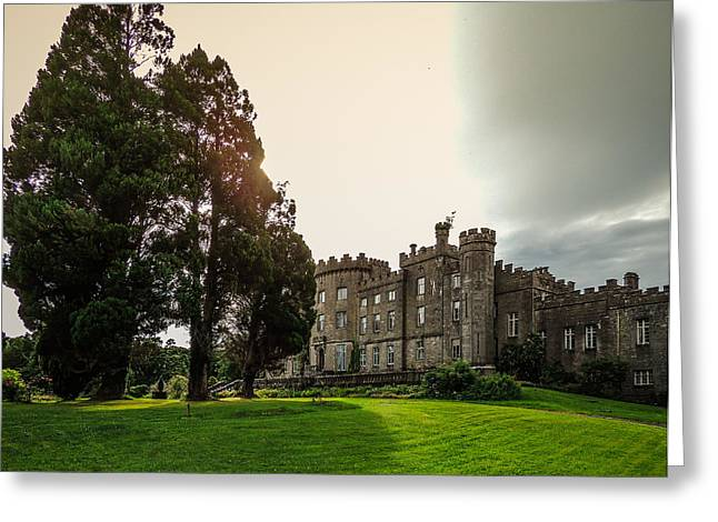 Afternoon Sun Over Markree Castle Greeting Card