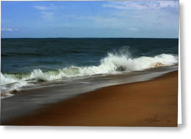 Afternoon Surf Greeting Card by Forest Stiltner