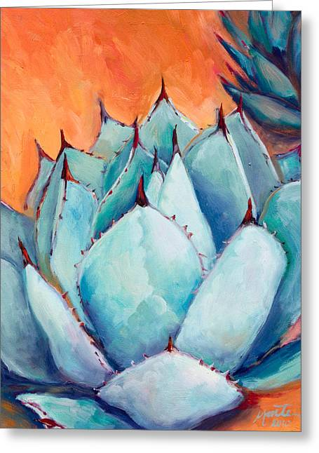 Agave 1 Greeting Card by Athena  Mantle