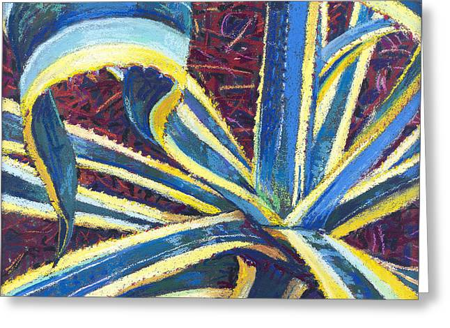Agave II Greeting Card by David Randall