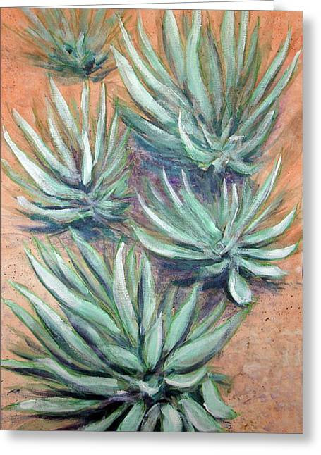 Agave Greeting Card by Kenny Henson