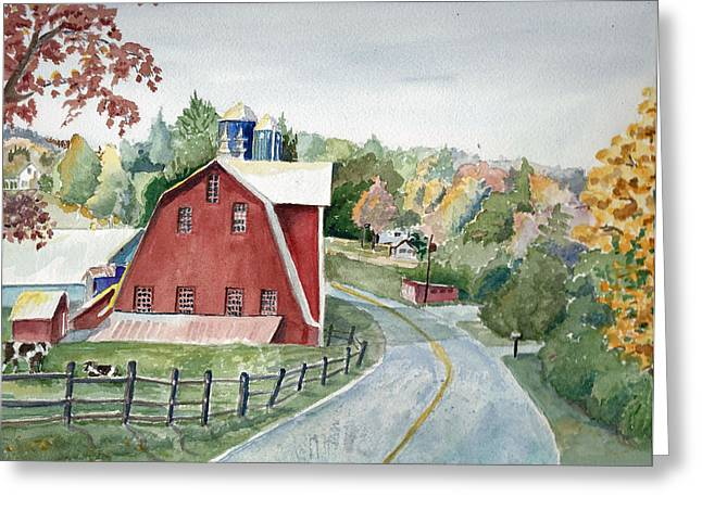 Pennsylvania - Agawam Barn Greeting Card