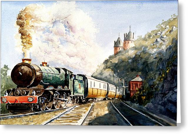 Age Of Steam Greeting Card by Steven Ponsford