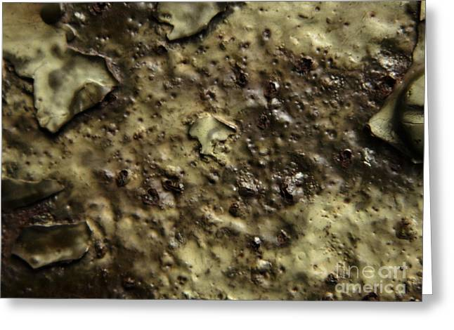 Aged Abstract Greeting Card