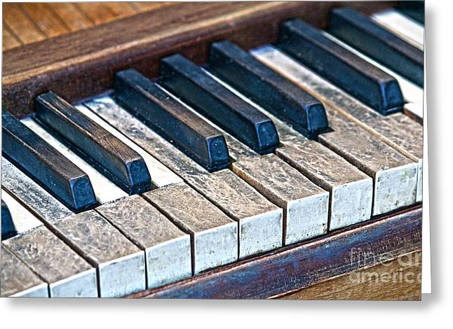 Aged Keys Greeting Card