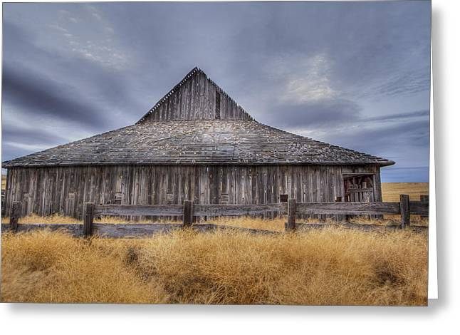 Aging Gracefully In Wasco County Greeting Card
