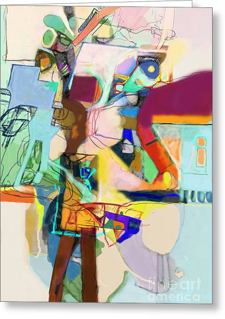 Self-renewal 17i Greeting Card by David Baruch Wolk