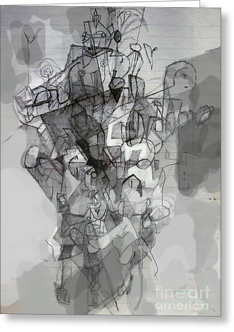 Self-renewal 2a Greeting Card by David Baruch Wolk