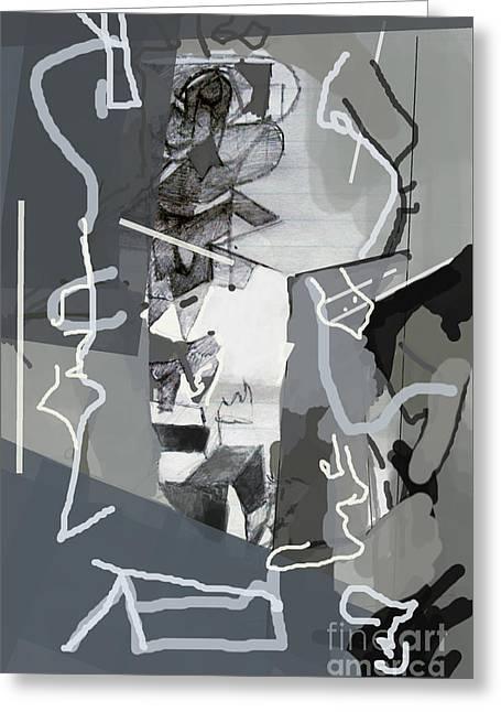 Self-renewal 3f Greeting Card by David Baruch Wolk