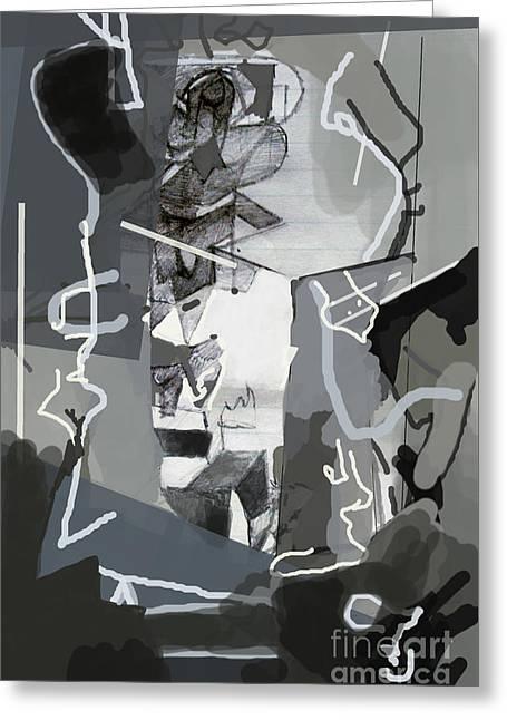 Self-renewal 3g Greeting Card by David Baruch Wolk