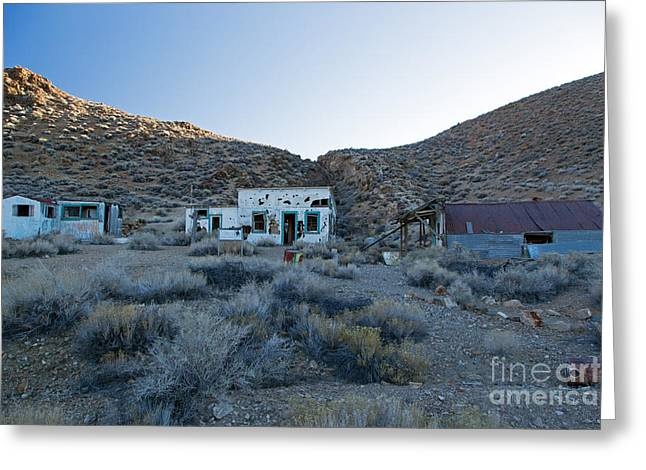 Aguereberry Camp Death Valley National Park Greeting Card
