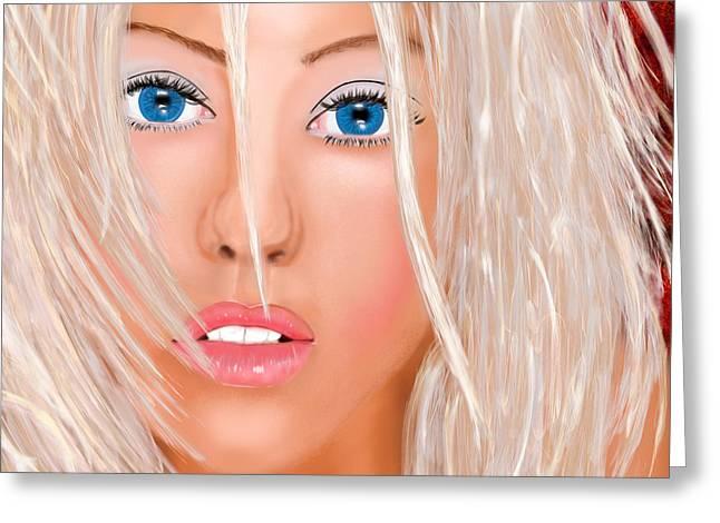 Aguilera Beautiful Greeting Card by Mathieu Lalonde