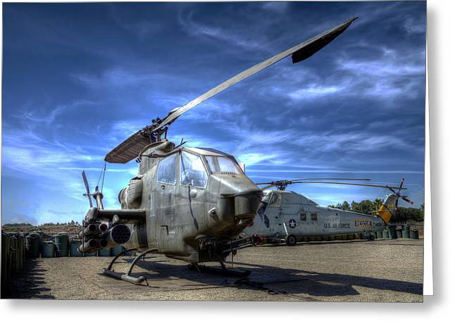 Ah-1 Cobra Greeting Card