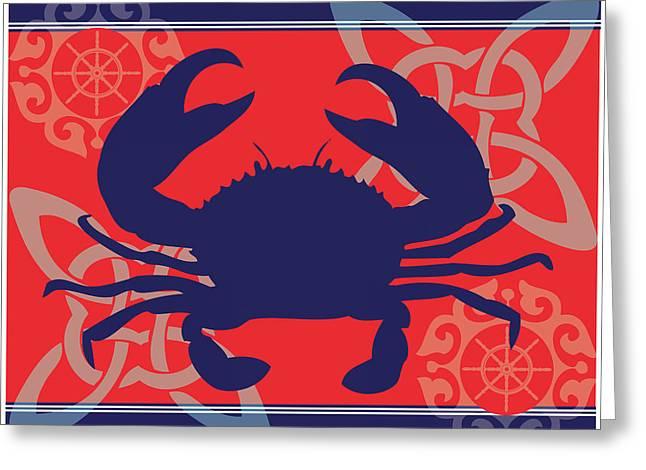 Ahoy Xi Greeting Card
