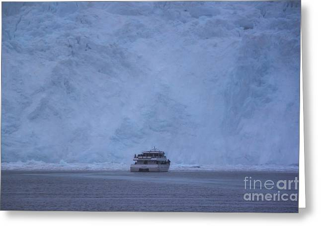 Aialik Glacier Greeting Card