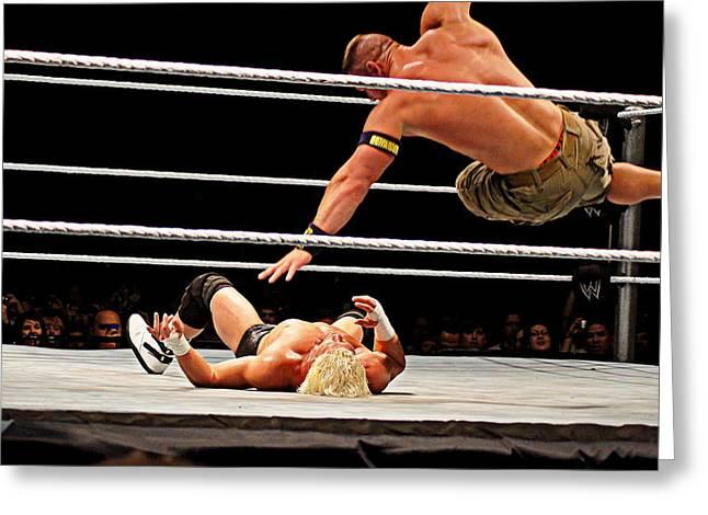 Air Cena Greeting Card by Paul  Wilford
