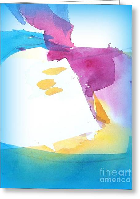 Air Current II Greeting Card by Wendy Wiese