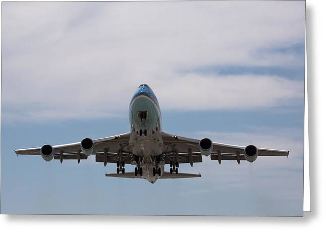 Air Force One Aloft Greeting Card