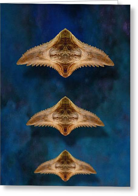 Movie Art Greeting Cards - Air Rayed 3 Greeting Card by WB Johnston