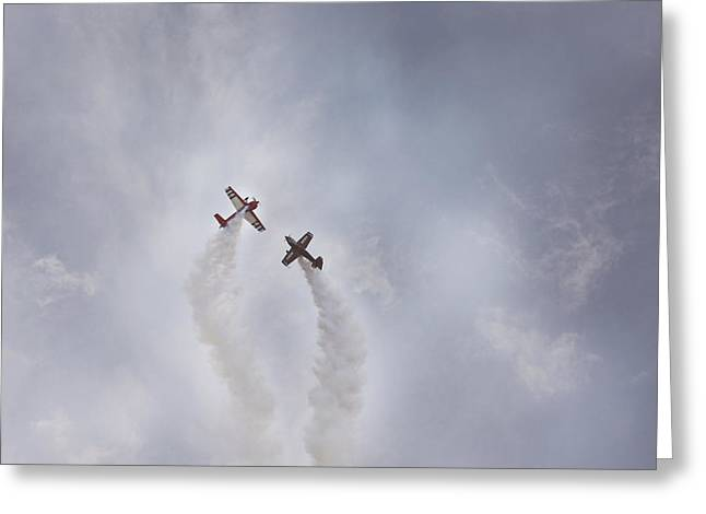 Air Show #3 Greeting Card by Pat Abbott