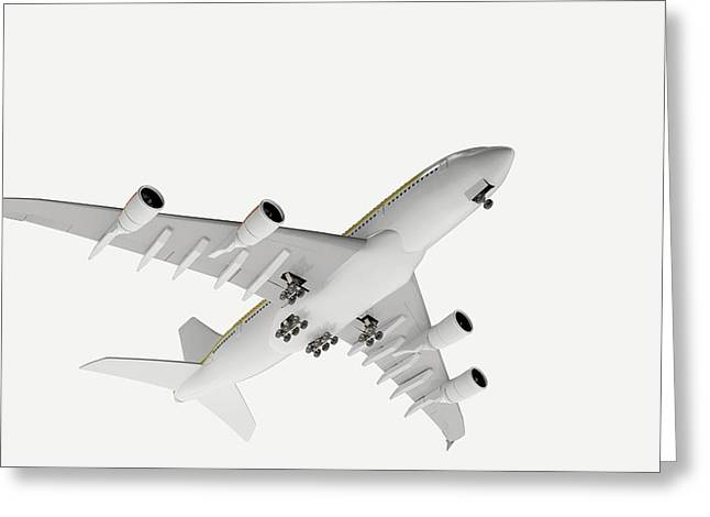 Airbus Flying Greeting Card