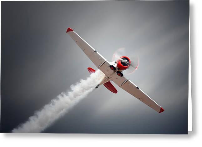 Aircraft In Flight Greeting Card