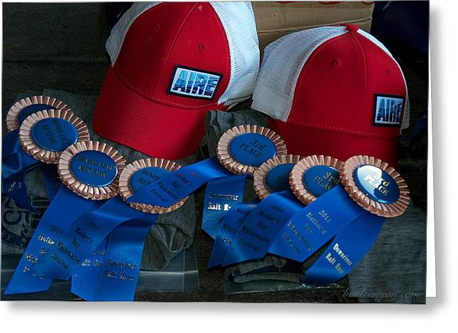 Aire Cap Prizes Greeting Card