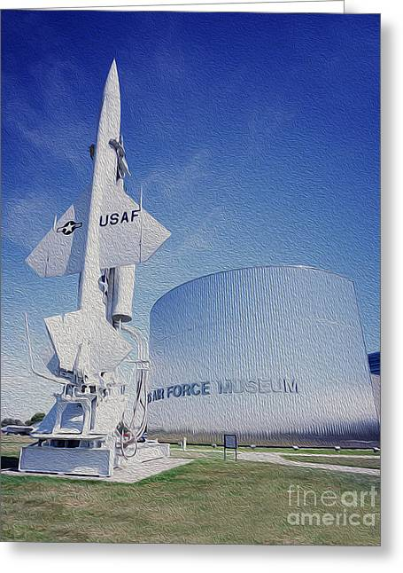 Airforce Museum Greeting Card