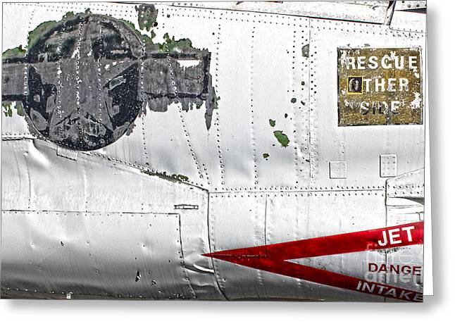Airplane - 15 Greeting Card by Gregory Dyer