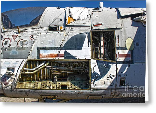 Airplane Graveyard - 07 Greeting Card by Gregory Dyer