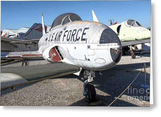 Airplane Graveyard - 09 Greeting Card by Gregory Dyer