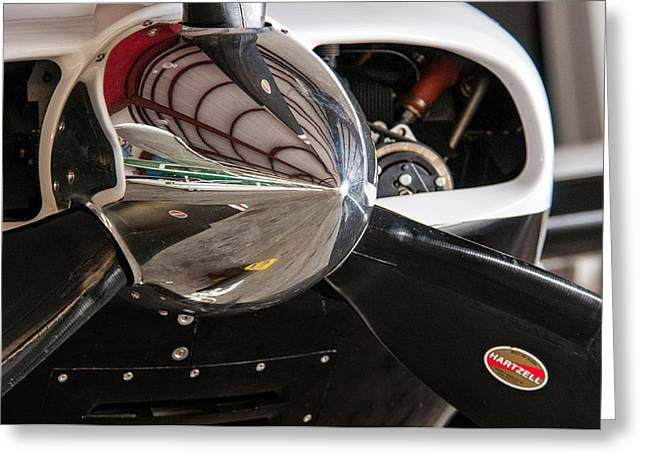 Airplane Nose Cone Greeting Card by Andy Crawford