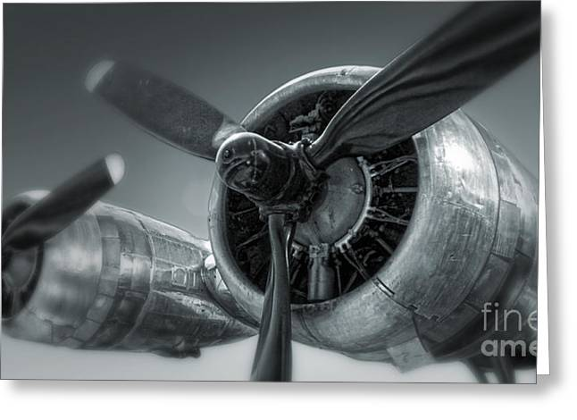Airplane Propeller - 02 Greeting Card