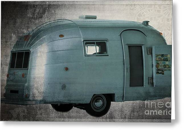 Airstream  Greeting Card by Edward Fielding