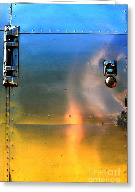 Airstream Sunset Greeting Card
