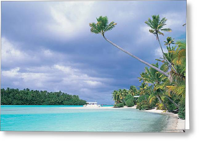 Aitutak Cook Islands New Zealand Greeting Card